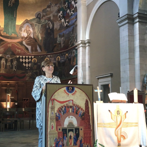 Milena Santerini, représentante de la Communauté de S. Egidio de Rome