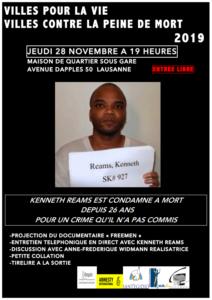 Projection de Freemen (Villes pour la vie 2019 à Lausanne)